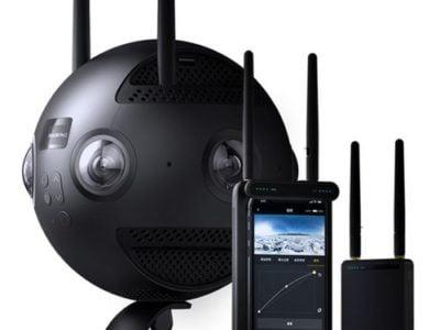 מצלמת insta360 pro 2