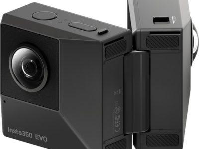 מצלמת תלת מימד insta 360 evo