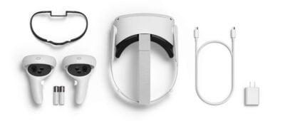 משקפי מציאות מדומה Oculus quest 2 אנבוקסינג אוקולוס קווסט 2 סקירה