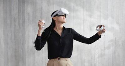 משקפי מציאות מדומה Oculus quest 2 אנבוקסינג סקירה