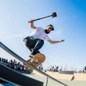 בנדל ספורט לסקייטרים למצלמת אקסטרים אינסטה 360